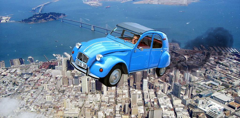 Larry Page está desarrollando en secreto un coche volador