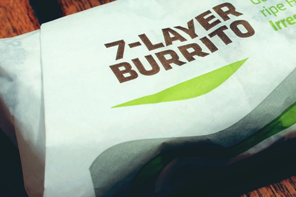 ranking taco bell menu items, 7-layer burrito