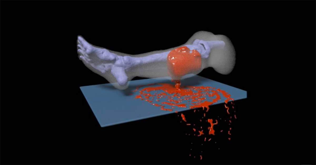 Virtual wound will teach medics how to treat soldiers
