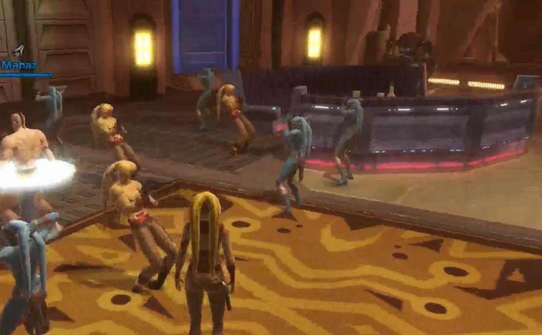 Dancing Twi'leks
