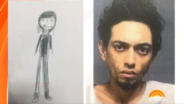 11歳の女の子が泥棒を目撃、ヒョロヒョロの似顔絵を作成→犯人捕まるwww【動画】