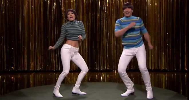 Jennifer Lopez on Jimmy Fallon