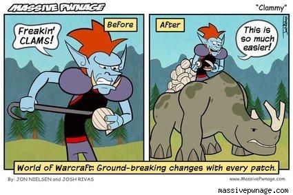 Clam comic