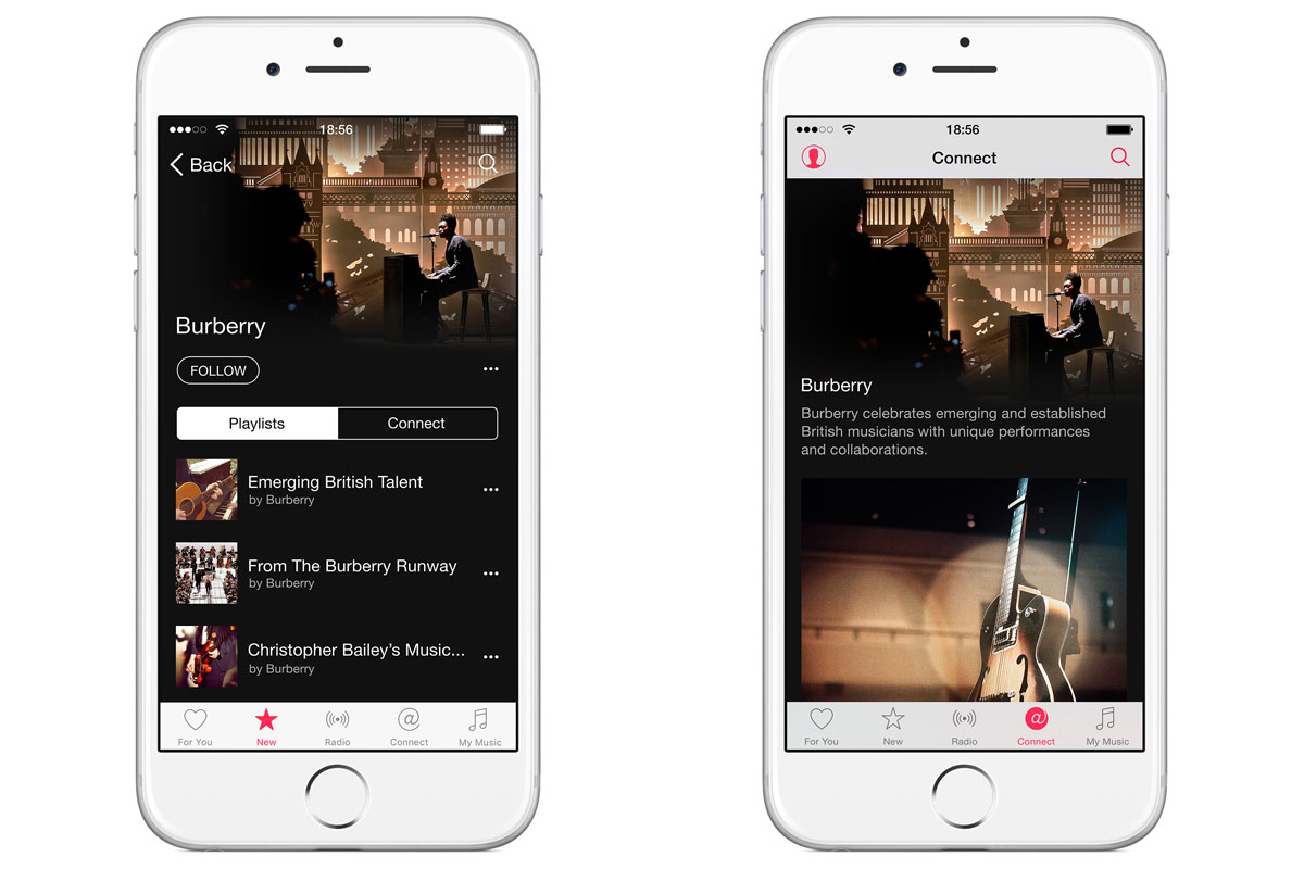 Burberry is the first big brand to get an Apple Music channel