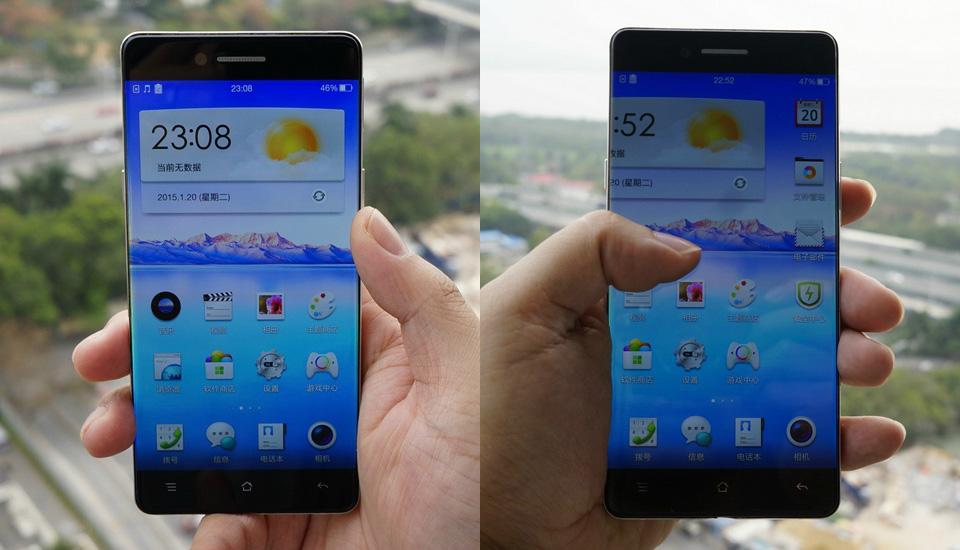 oppo 也要推出「无边框」手机了?
