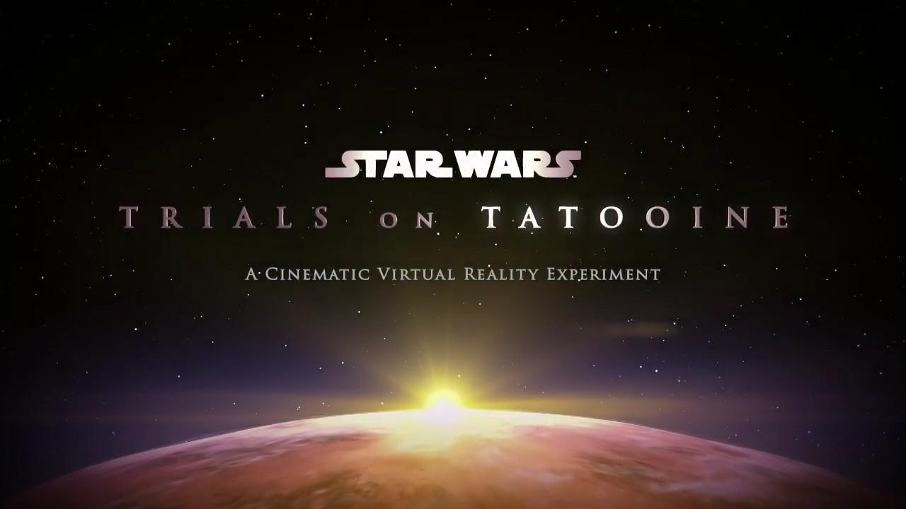 'Star Wars: Trials on Tatooine' para HTC Vive se desvela finalmente