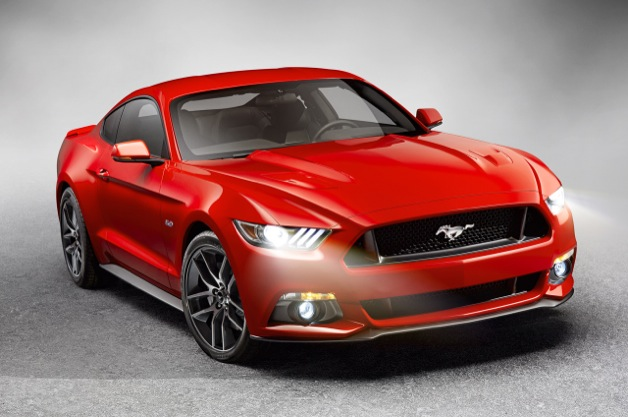 2015 Ford Mustang GT - Red