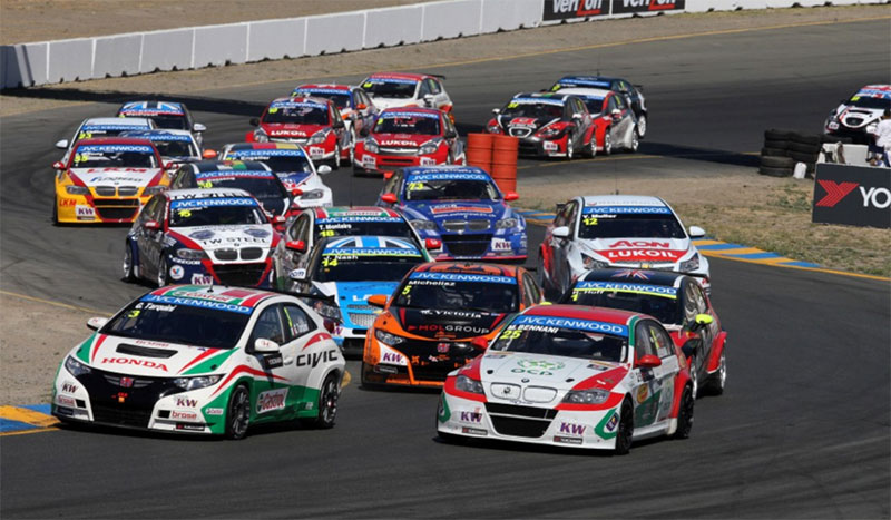 The 2013 World Touring Car Championship race at Sonoma Raceway.