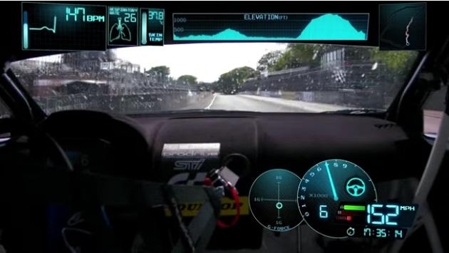【ビデオ】スバル、マン島TT最速記録を更新した「WRX STI」の車載カメラによるスリリングな映像を公開!