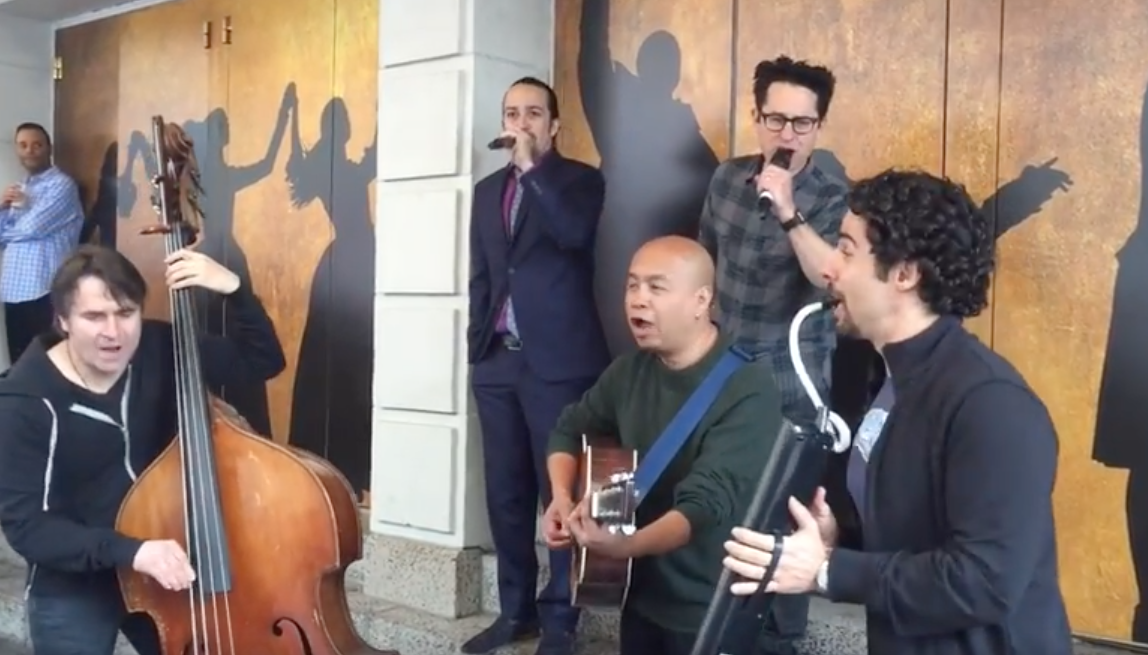 'Hamilton' and 'Star Wars' collide in your dream jam session