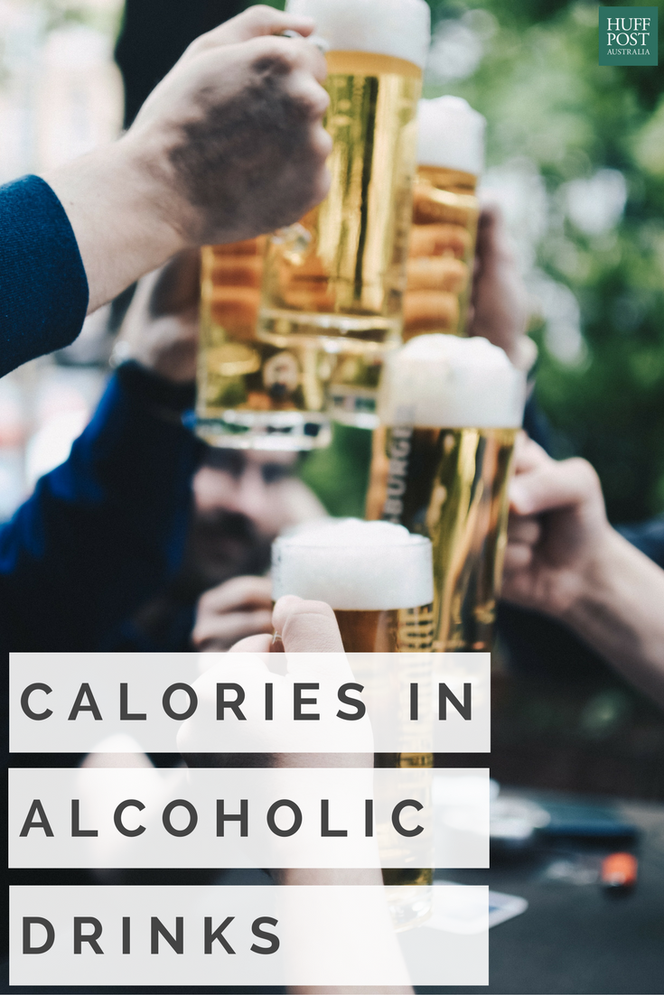 Here s how many calories are in your favourite alcoholic drinks
