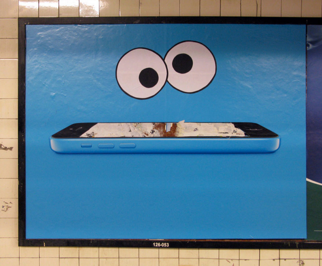 poster boy nyc iphone 5c ads