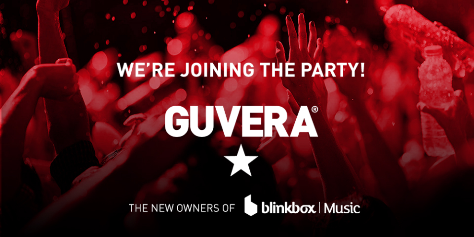 What is Guvera and what does it have planned for Blinkbox Music?