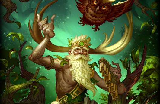SMITE's new god, Sylvanus, rocks a treant mount