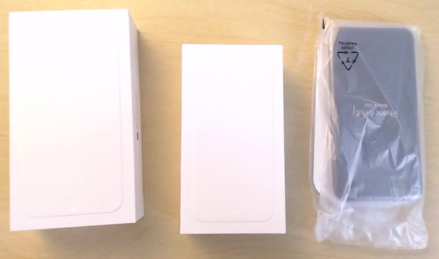 iPhone 6 Plus unboxing