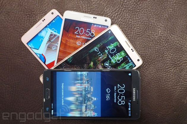 La galaxia se reduce: Samsung fabricará menos teléfonos en 2015