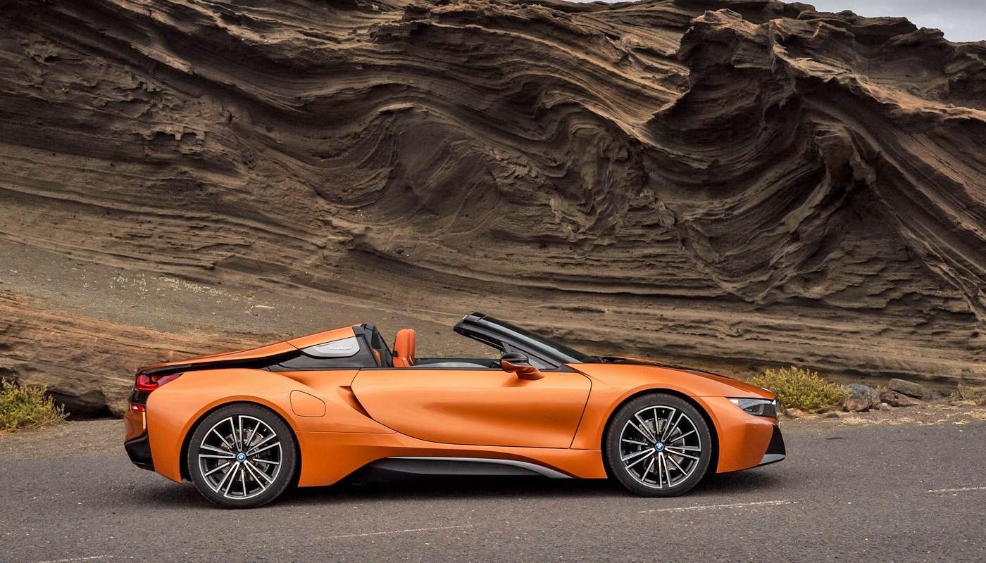 BMW i8 Roadster: rasanter Hybrid mit Sonnendeck