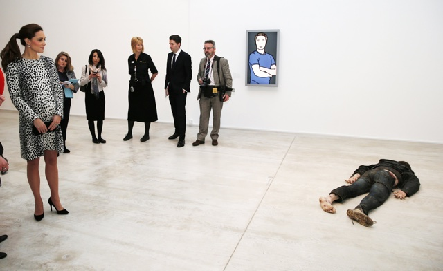 Kate Middleton visits Turner gallery