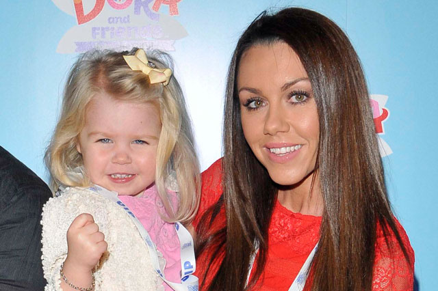 Michelle Heaton's 2-year-old daughter Faith falls three metres down a manhole