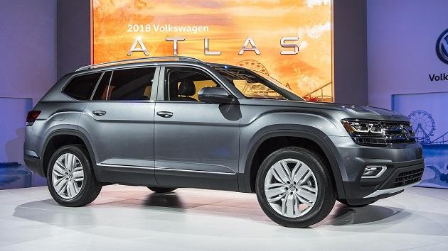 フォルクスワーゲン、3列シートの新型SUV「アトラス」を米国で発表