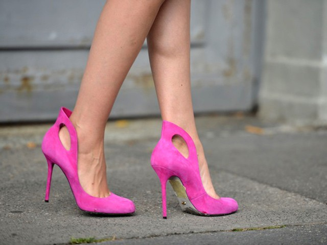 Spring's sexiest peek-a-boo shoes