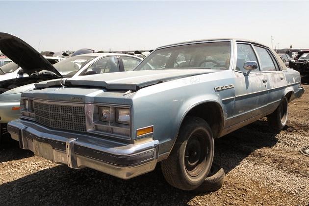 米国のジャンクヤードで発見した、ダウンサイジング・エンジンを搭載する1979年型ビュイック「エレクトラ リミテッド」