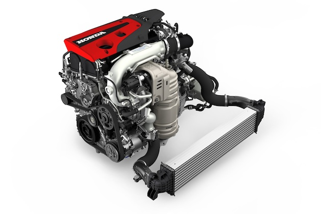 2017 Honda Civic Type R Engine with Intercooler