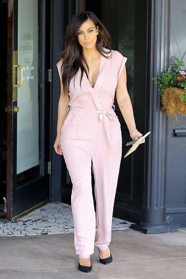 Kim-Kardashian-pink-jumpsuit