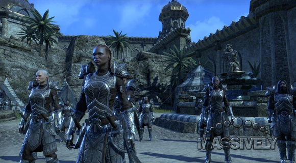 Elder Scrolls Online - Redguard soldiers