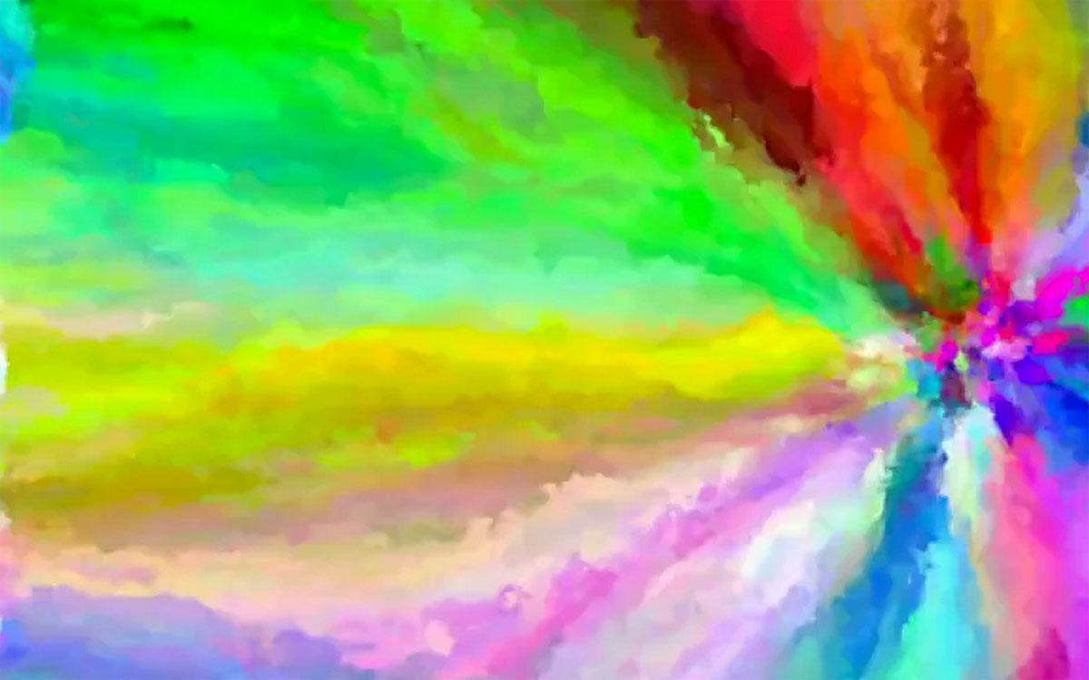 code kunst alle farben in psychedelischen kurzclips engadget deutschland. Black Bedroom Furniture Sets. Home Design Ideas