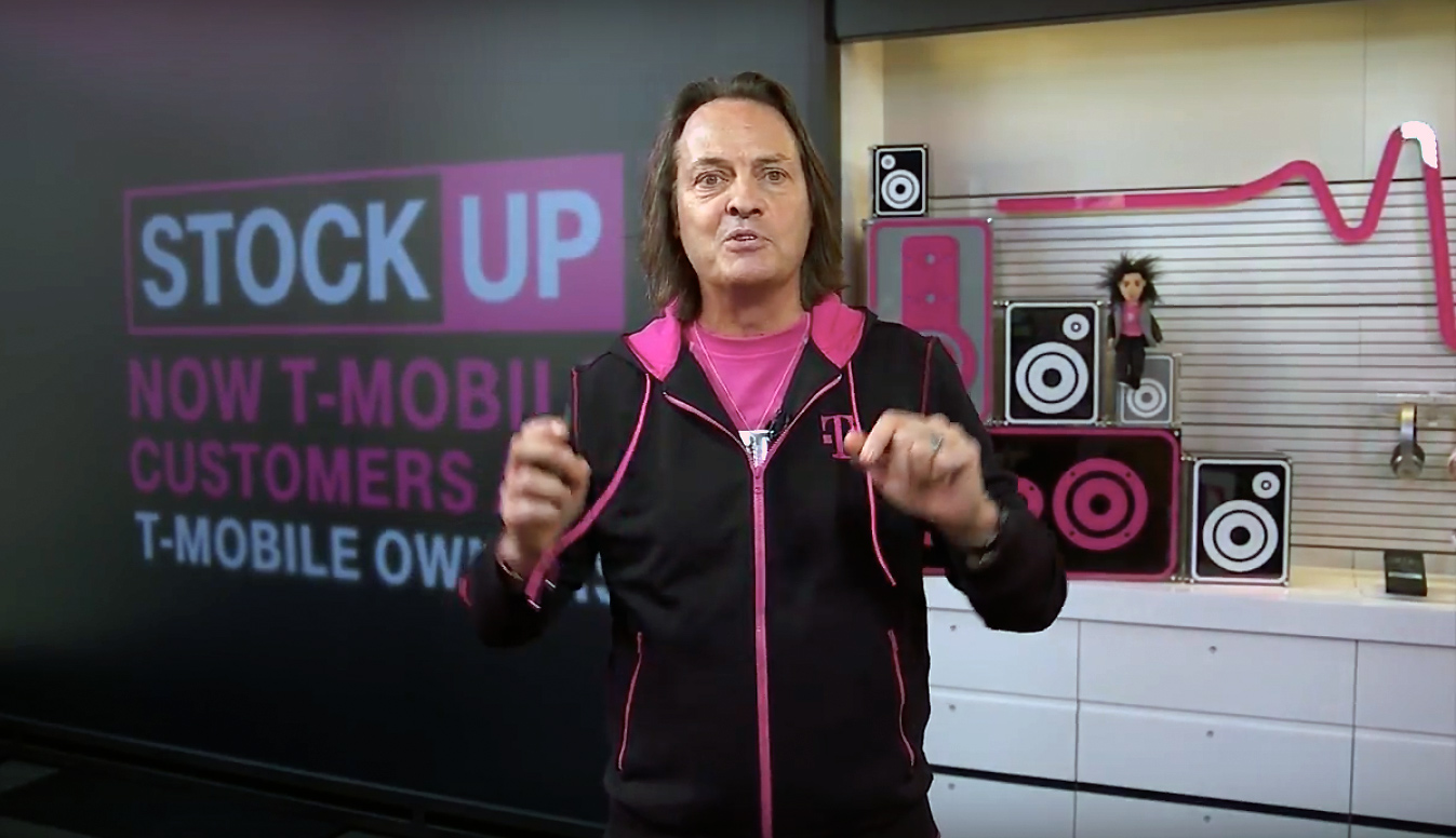 T-Mobile's new Uncarrier move gives company stock to subscribers