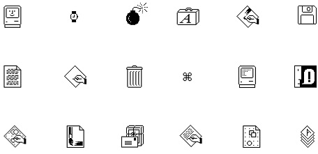 Bomb Icon Mac The Mac's Famous Icons And
