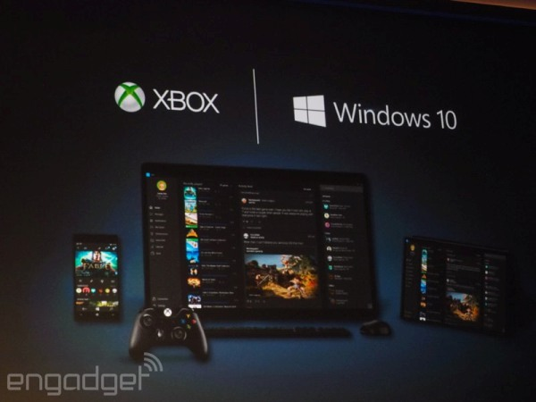 Xbox One games will stream to any Windows 10 PC or tablet