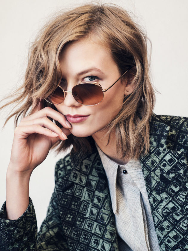 The Karlie Kloss x Warby Parker collection is here