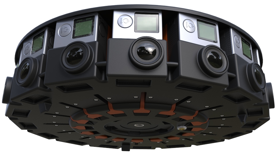 GoPro unveils a 360-degree camera array for VR videos