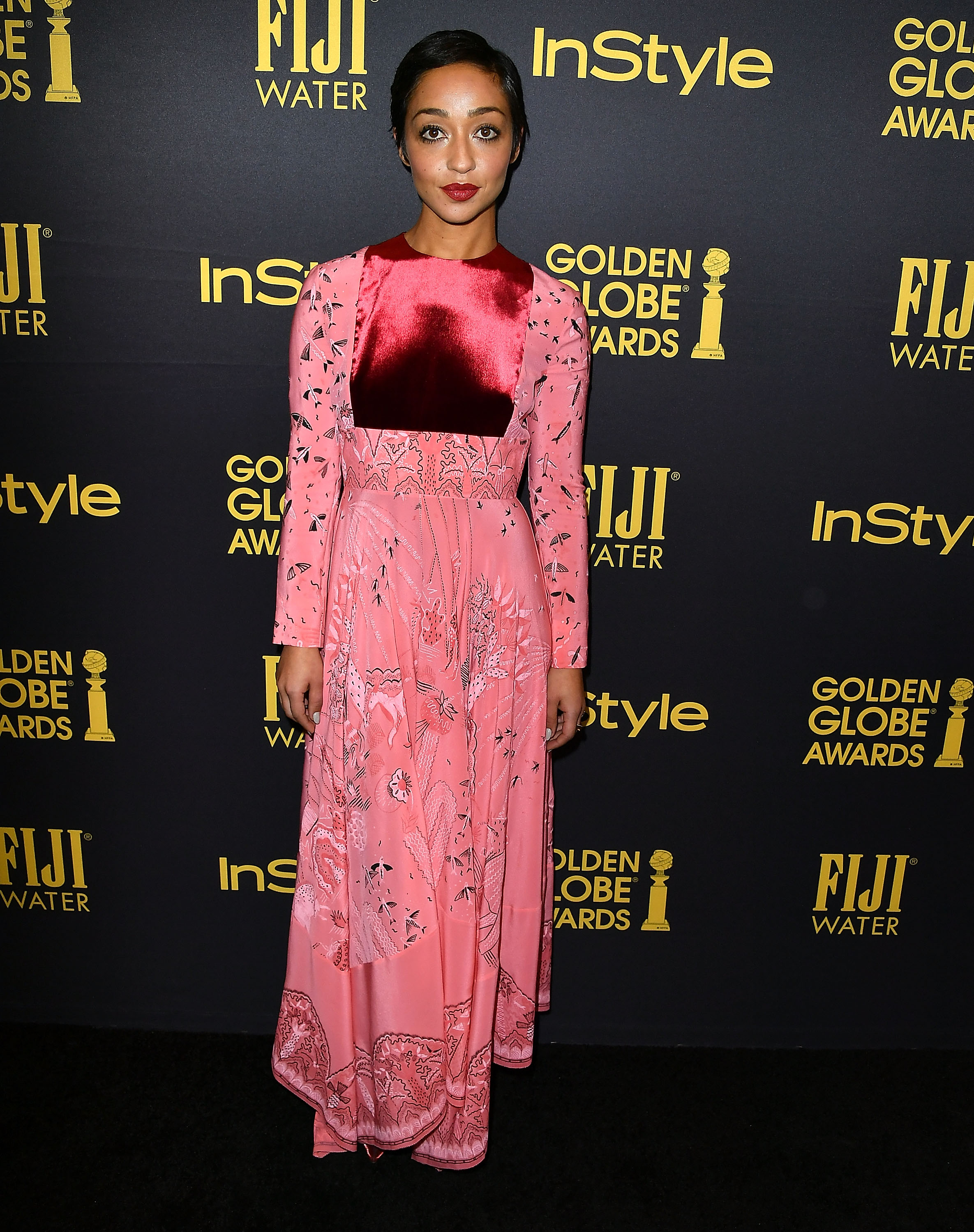 Hollywood Foreign Press Association And InStyle Celebrate The 2017 Golden Globe Award Season