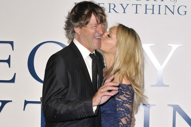 Chloe Madeley embarrasses her dad by giving him a kiss on the cheek