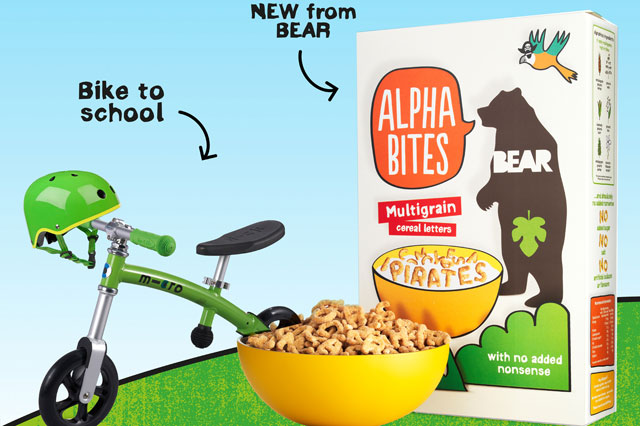 Win a Micro Scooter and accessories worth £150 and a month supply of Alphabites cereal