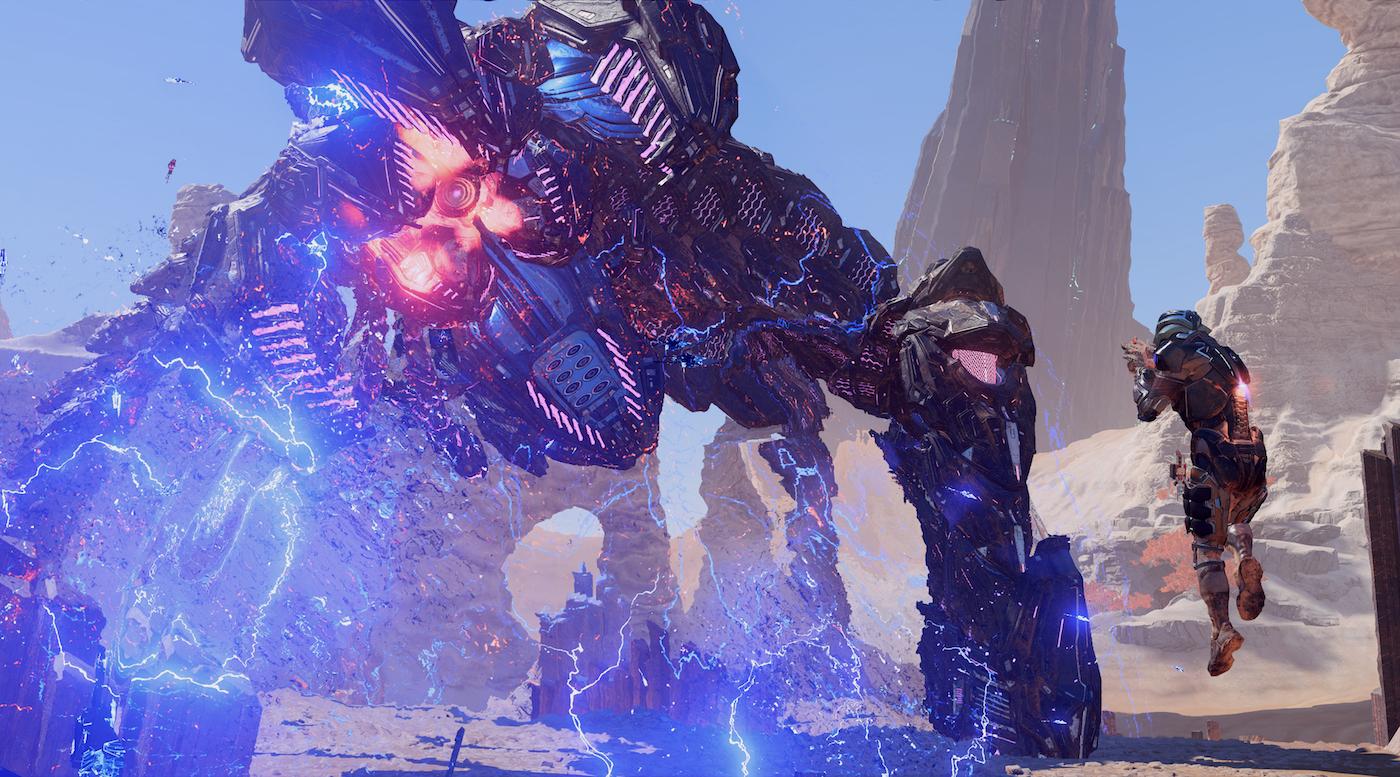 Mass Effect: Andromeda estrena vídeo en 4K HDR