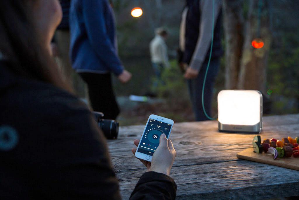 BioLite's new lantern doubles as a campsite power grid