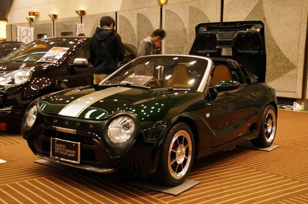 【東京オートサロン2017】ホンダであってホンダでない!? ホンダの有志が作った「S660 ネオクラシック」の進化モデルが登場!!