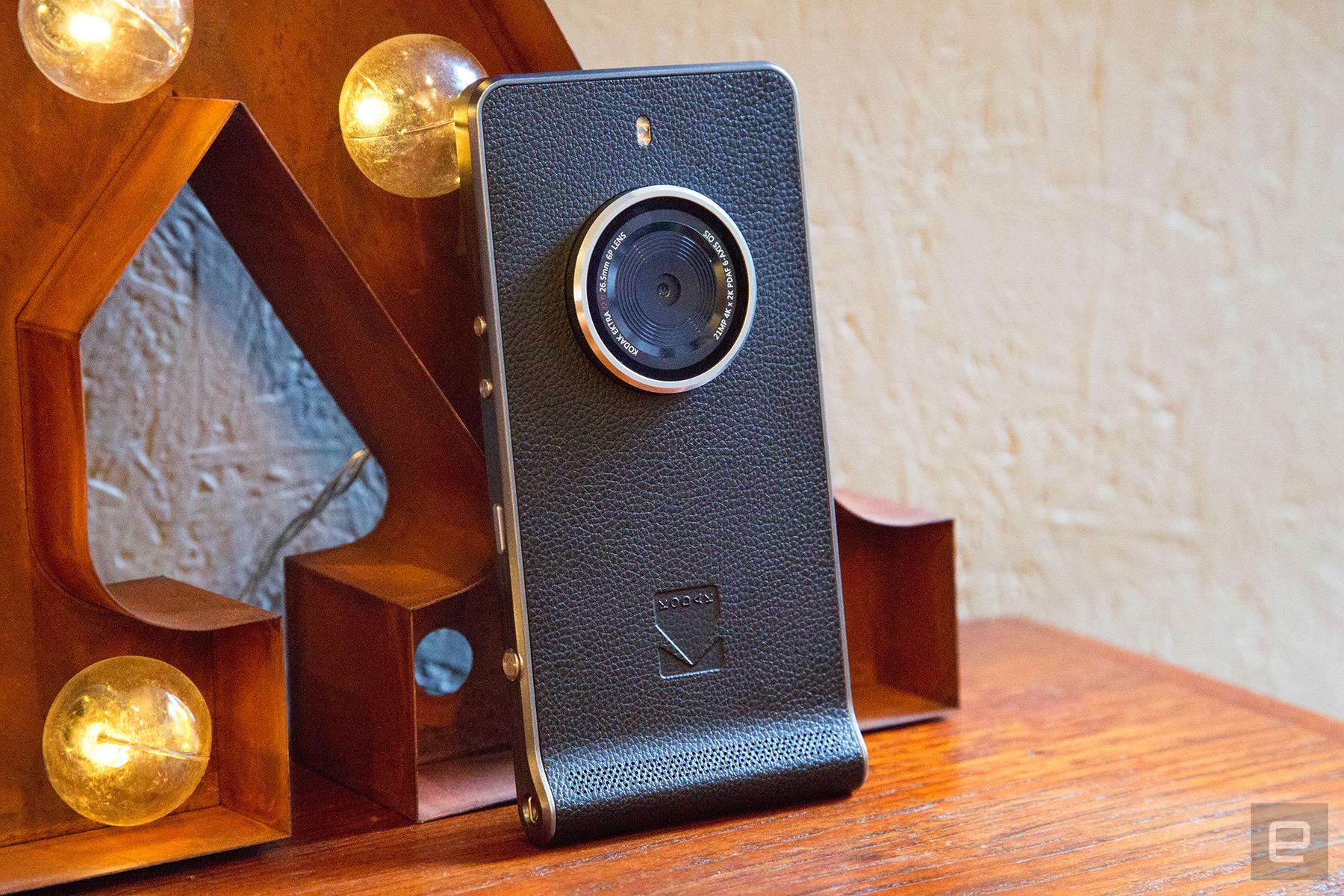 Kodak vuelve a intentarlo con Ektra, un teléfono pensado para fotógrafos