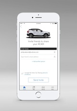 New Volvo XC40 - Volvo On Call, car sharing, owner