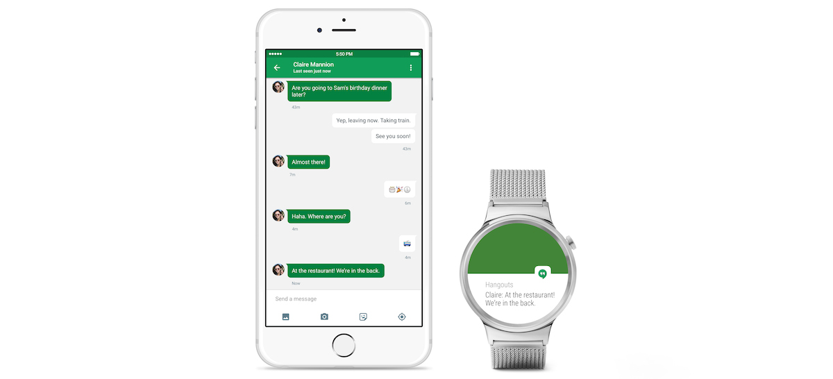Google has officially announced that Android set on is coming to the iPhone Android Wear directly industrial plant alongside iPhones