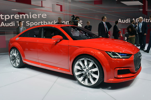 Paris: Audi TT Sportback Concept rounds out an icon