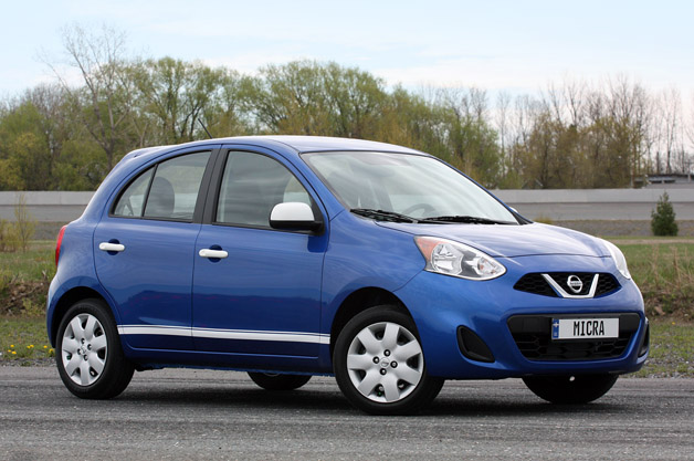 2015 Nissan Micra, the cheapest new car in Canada