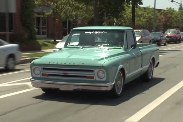 【ビデオ】ジェイ・レノがレストアした1967年製シボレー「C10」に試乗!