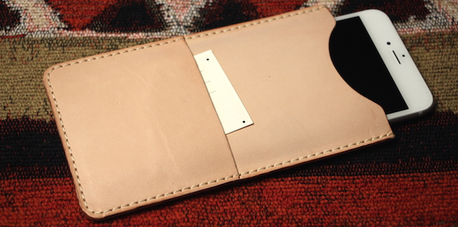 DODOcase VegTan Slim Wallet for iPhone 6 Plus