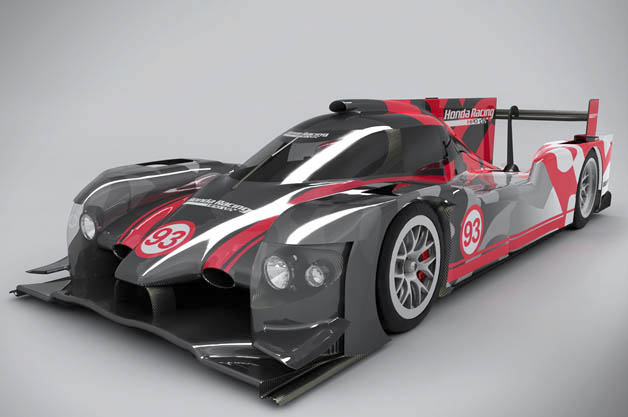 Honda Performance Development reveals new ARX-04b LMP2 coupe