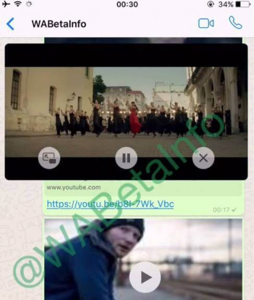YouTube-Videos per WhatsApp: Stream im Messenger